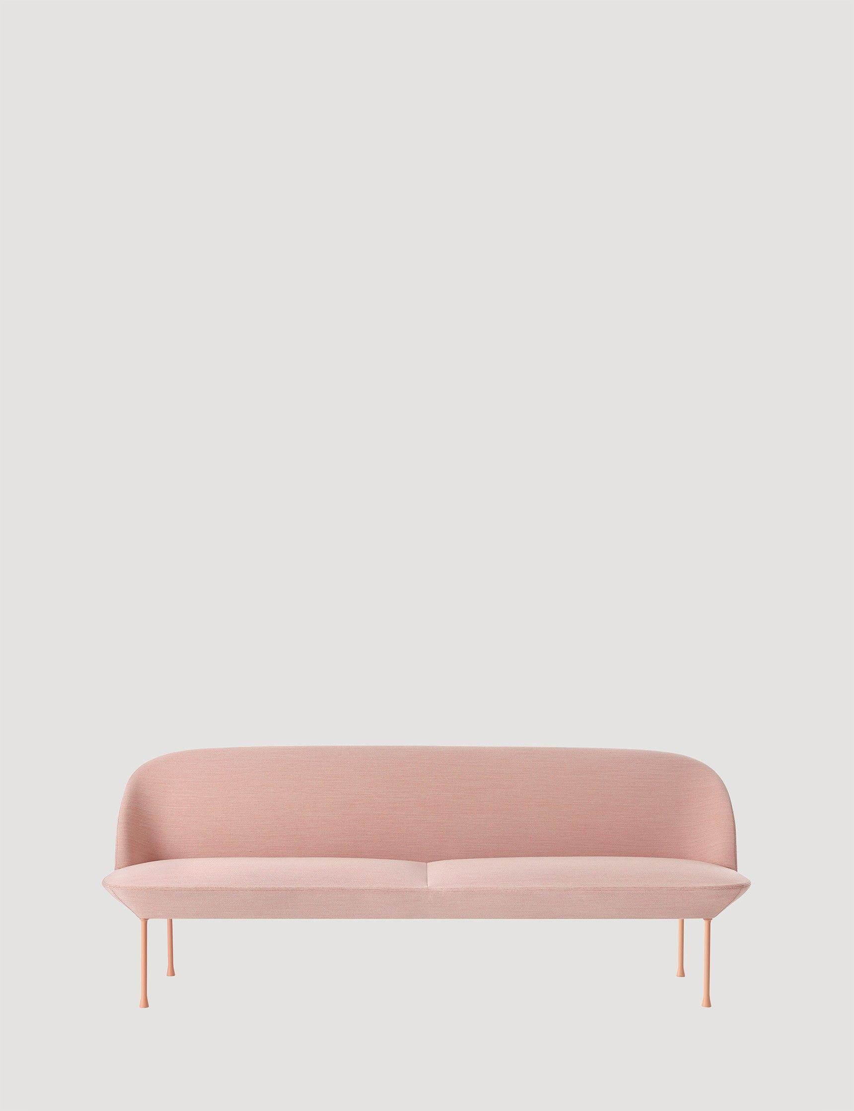 Schlafsofa designklassiker  OSLO - Modern Scandinavian Design 3-Seat Sofa by Muuto - Muuto ...