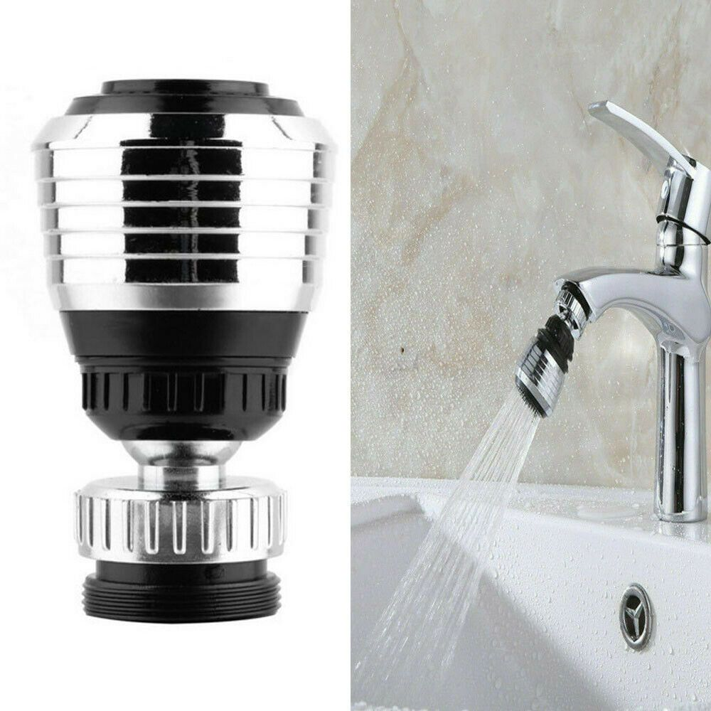 360° Rotating Faucet Filter Diffuser Kitchen Bathroom Gadget Accessories po