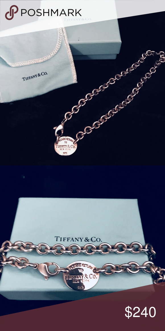 """a5613147d Tiffany's """"Return to Tiffany"""" toggle necklace Tiffany's """"Return to Tiffany"""" toggle  necklace Tiffany & Co. Jewelry Necklaces"""