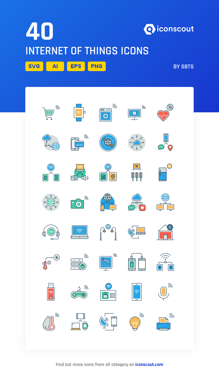 Download Internet Of Things Icon Pack Available In Svg Png Eps Ai Icon Fonts In 2020 Icon Network Icon Icon Pack