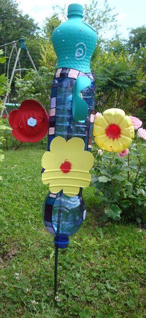Tutoriel Atelier Enfant Fabriquer Un Moulin A Vent Femme2decotv Creations Avec Des Bouteilles En Plastique Moulin A Vent Recycler Bouteille Plastique