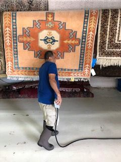 #OrientalRugCare #OrientalRugCleaning #RugDryingProcess #OrientalRugCleaners #RugCleaning #PalmBeach  #Drying out is a crucial component in our 5-step procedure. We deal within the constant flow of warm, dry air around each rug in a delicate and careful manner. Apparently, drying out by means of a clean and continual air flow guarantees the speedy drying of each rug.