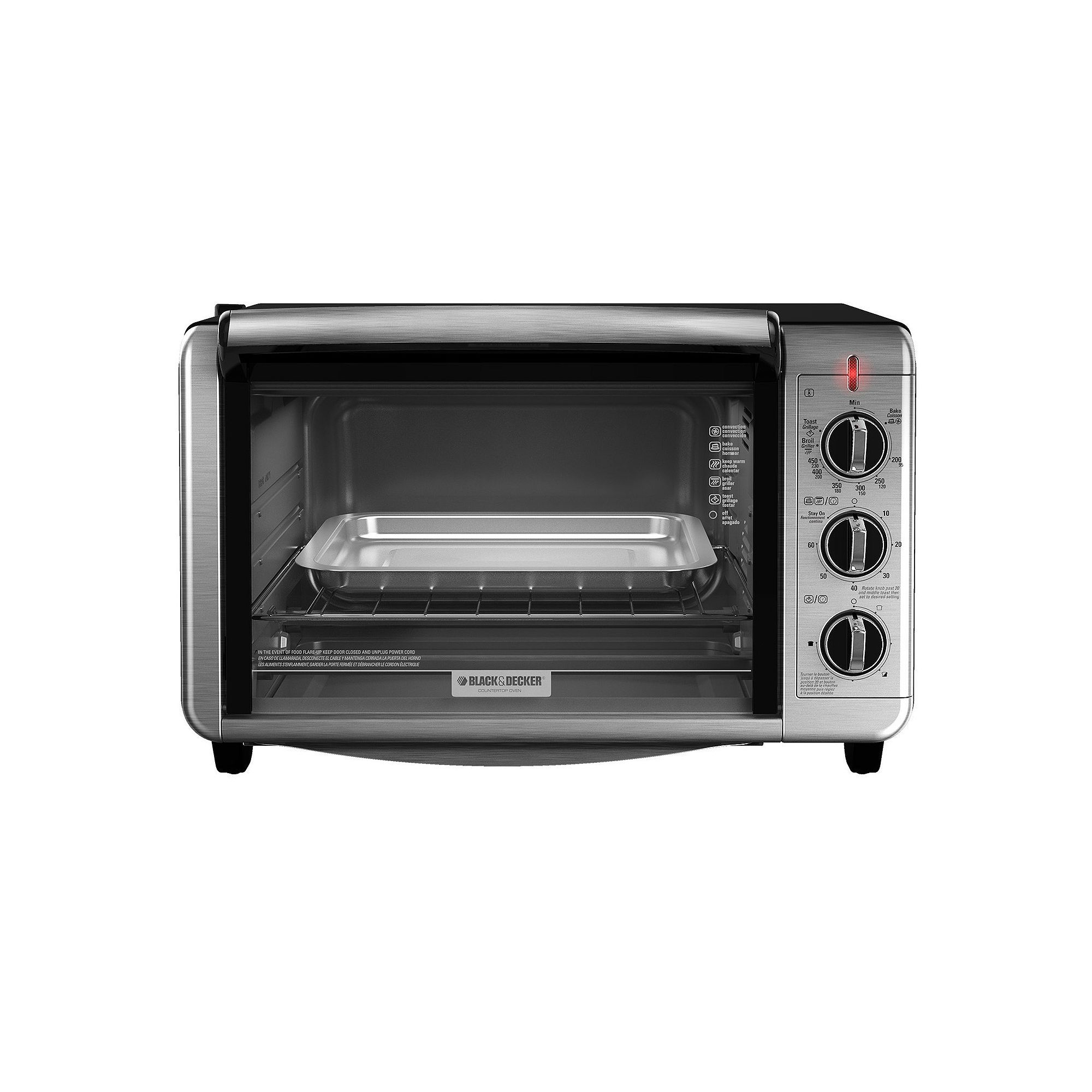 Black Decker Dining In Countertop Convection Oven Multicolor