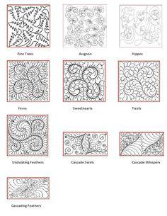 Longarm Quilting Pattern Book