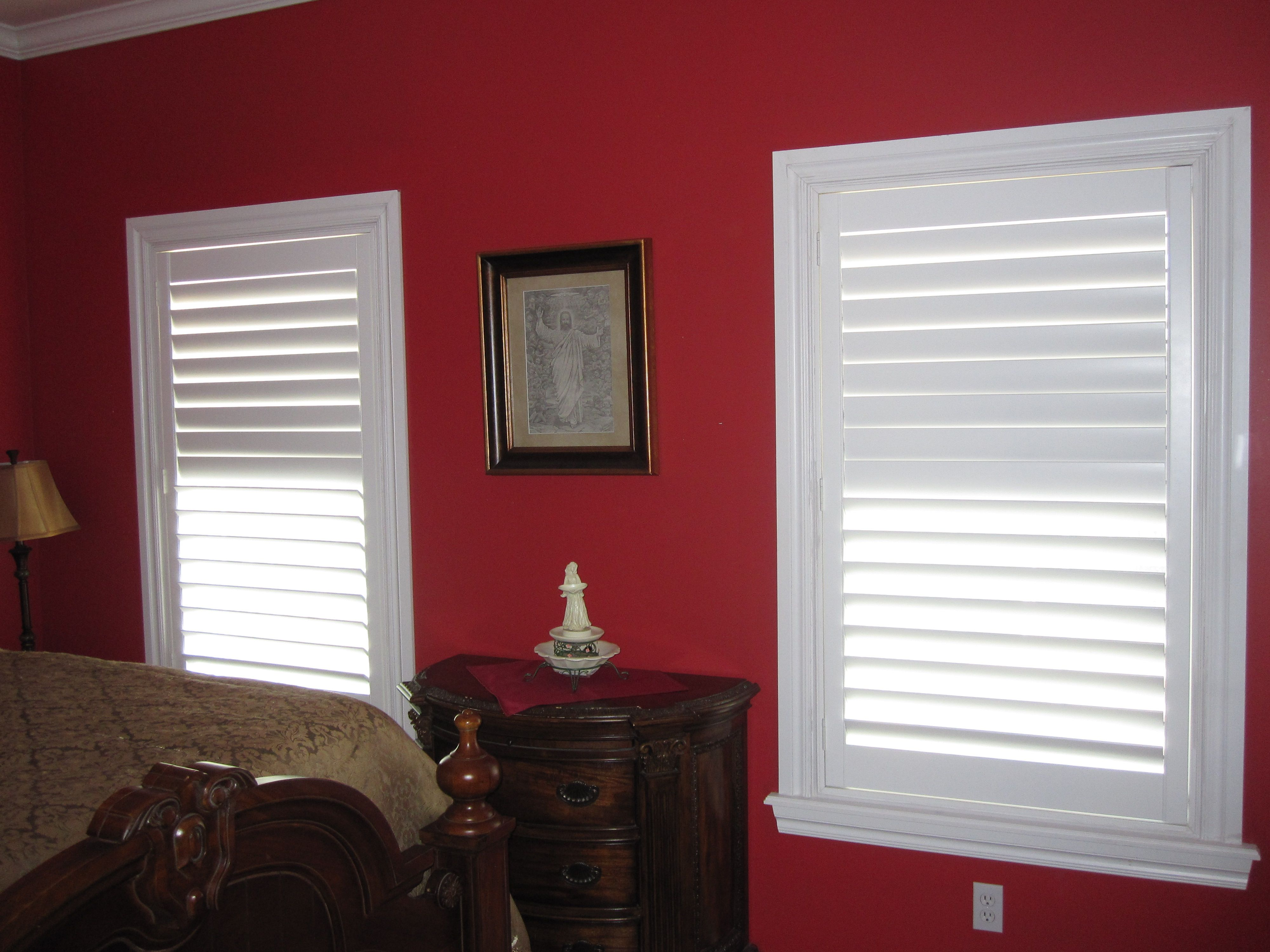 Master bedroom, 3.5in hidden tilt. Home decor, Shutters