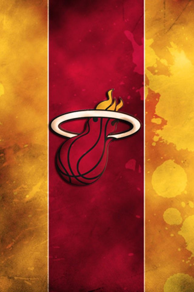 Miami Heat IPhone Wallpaper - http://wallpaperzoo.com/miami-heat