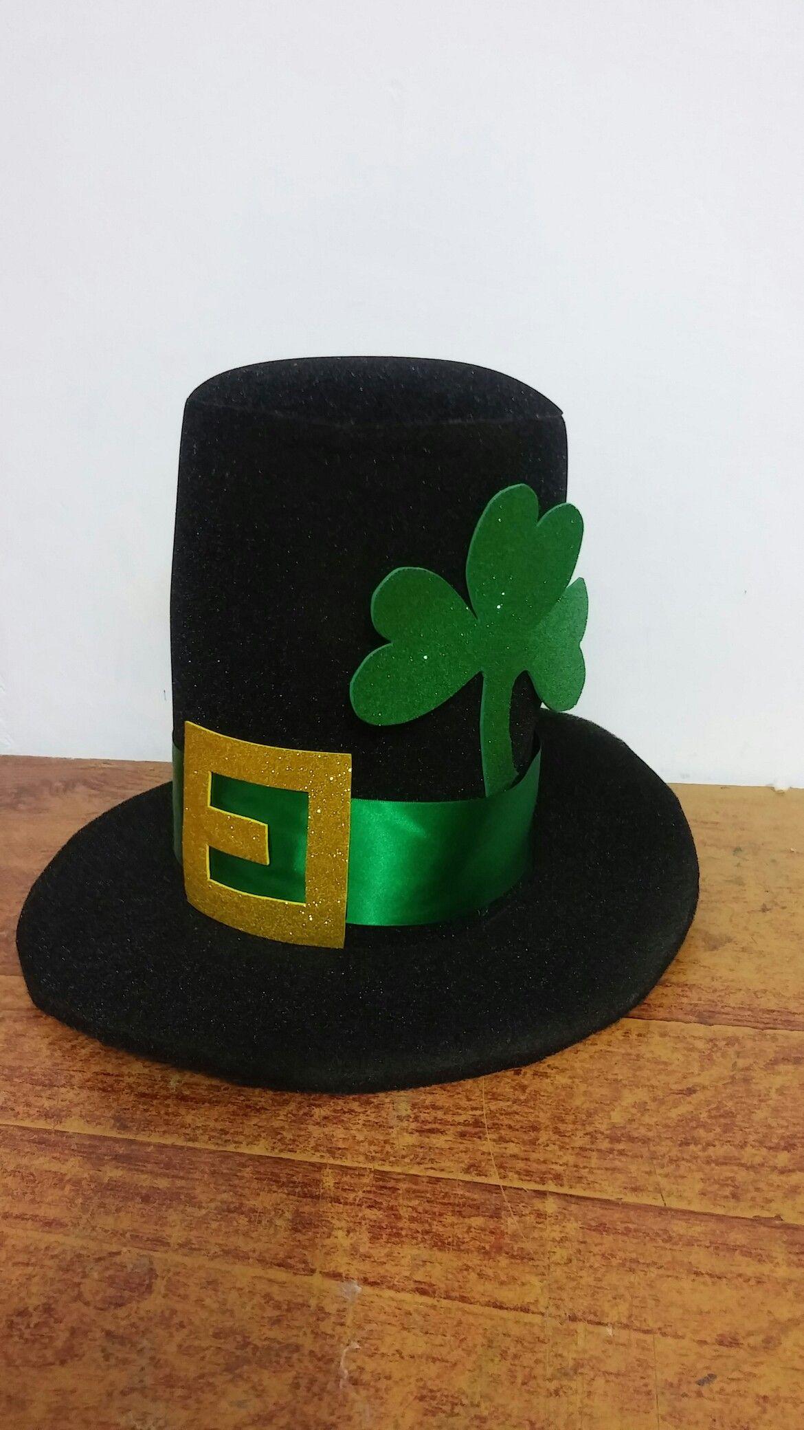 5de691183 Otro diseño .... Sombrero trébol | Bombillos y mas | Sombreros para ...