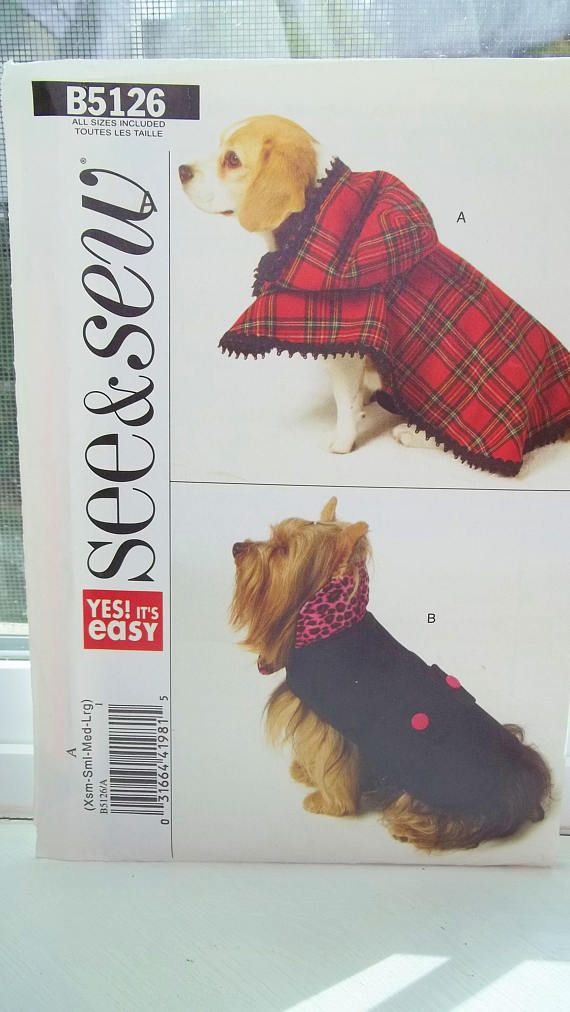 McCall/'s 3472 CRAFTY PET ACCESSORIES Pattern