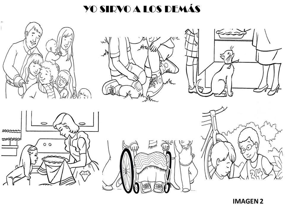 Libreta Para Niños Con 25 Dibujos Para Colorear: Dibujos Para Colorear Amor Al Projimo Ideas Creativas