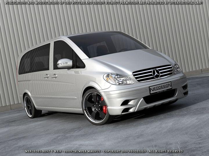 Mercedes-Benz Vito Viano II W639 Facelift Frontstoßstange Frontschürze