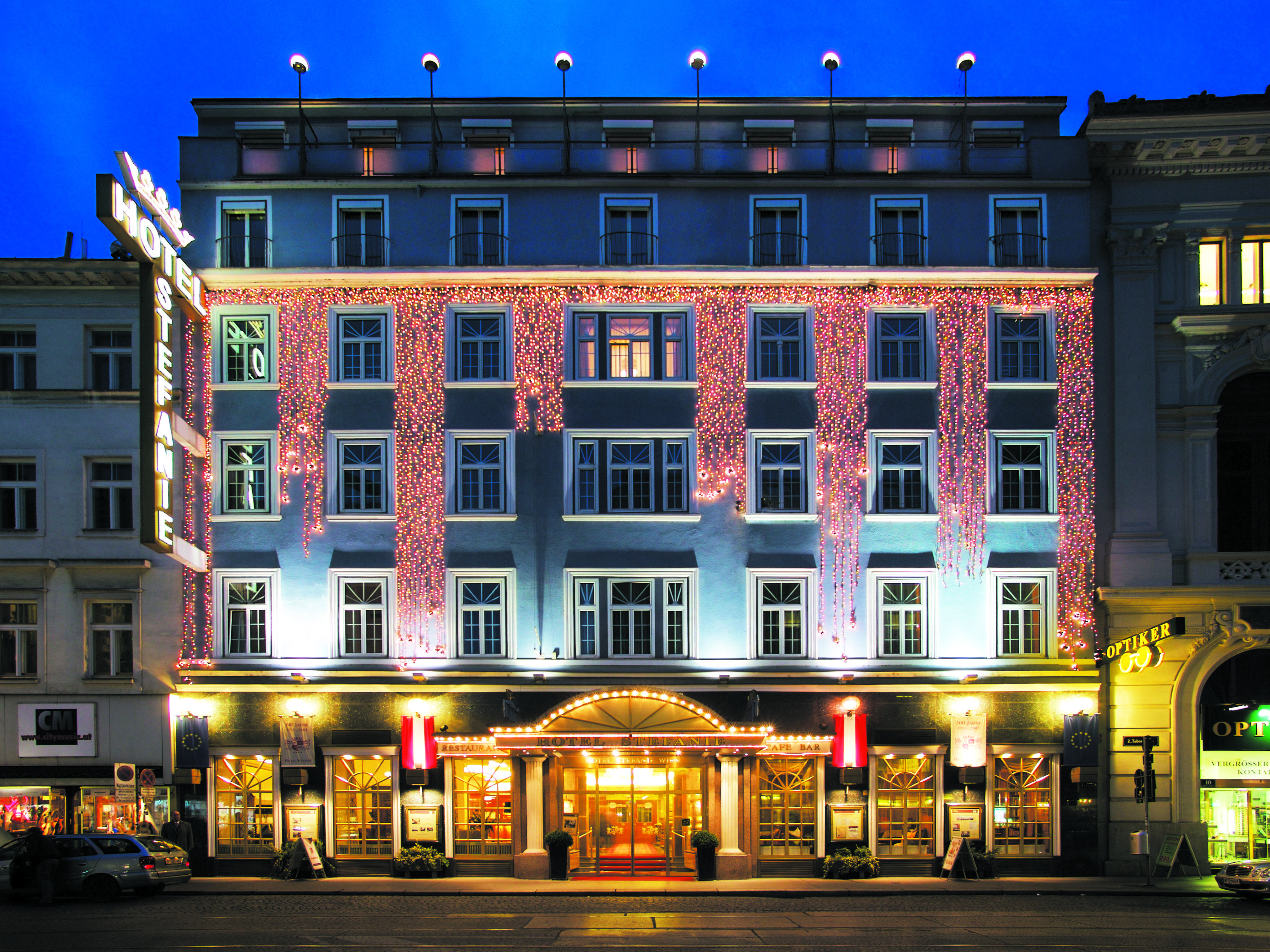 Antiques And Style Meet Hotel Stefanie In Vienna;