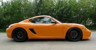 Manthey cayman front spoiler -