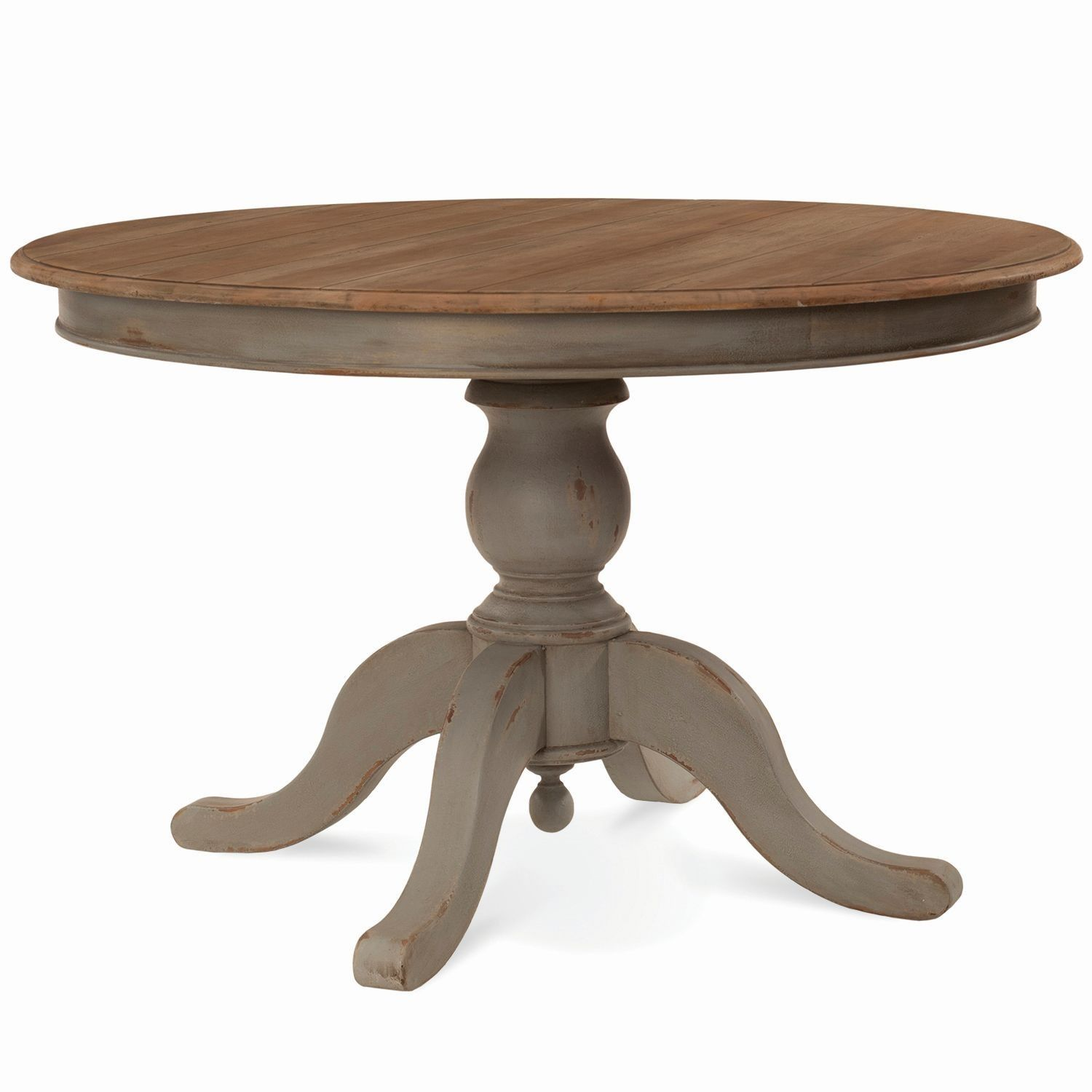 Farmhouse 4 round pedestal table customize items with