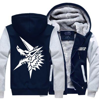 58a28acc3 Monster Hunter hoodie hoodies thicken fleece jacket on Aliexpress.com