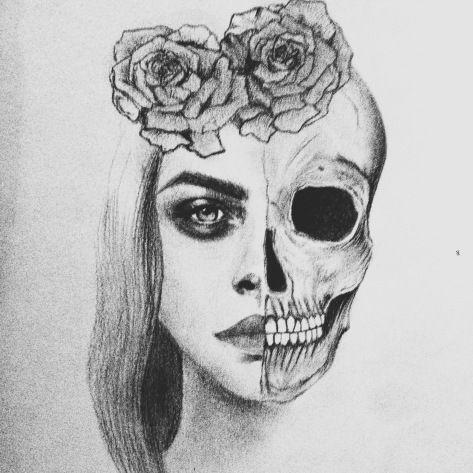 skull drawing tumblr - google search   skull   Tumblr ...