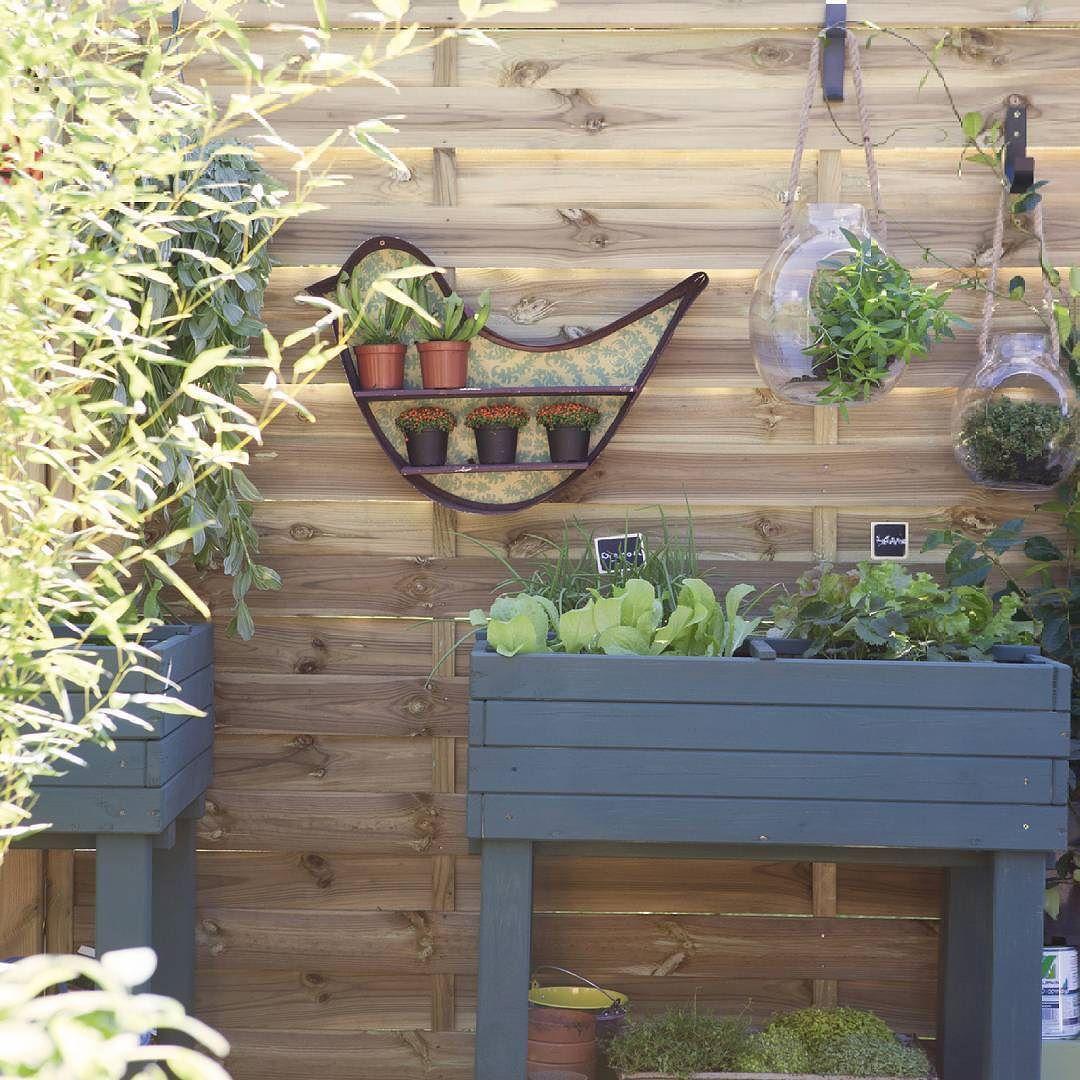 Decoration Petit Jardin dedans dans ce petit #jardin de ville toute la #terrasse est consacrée