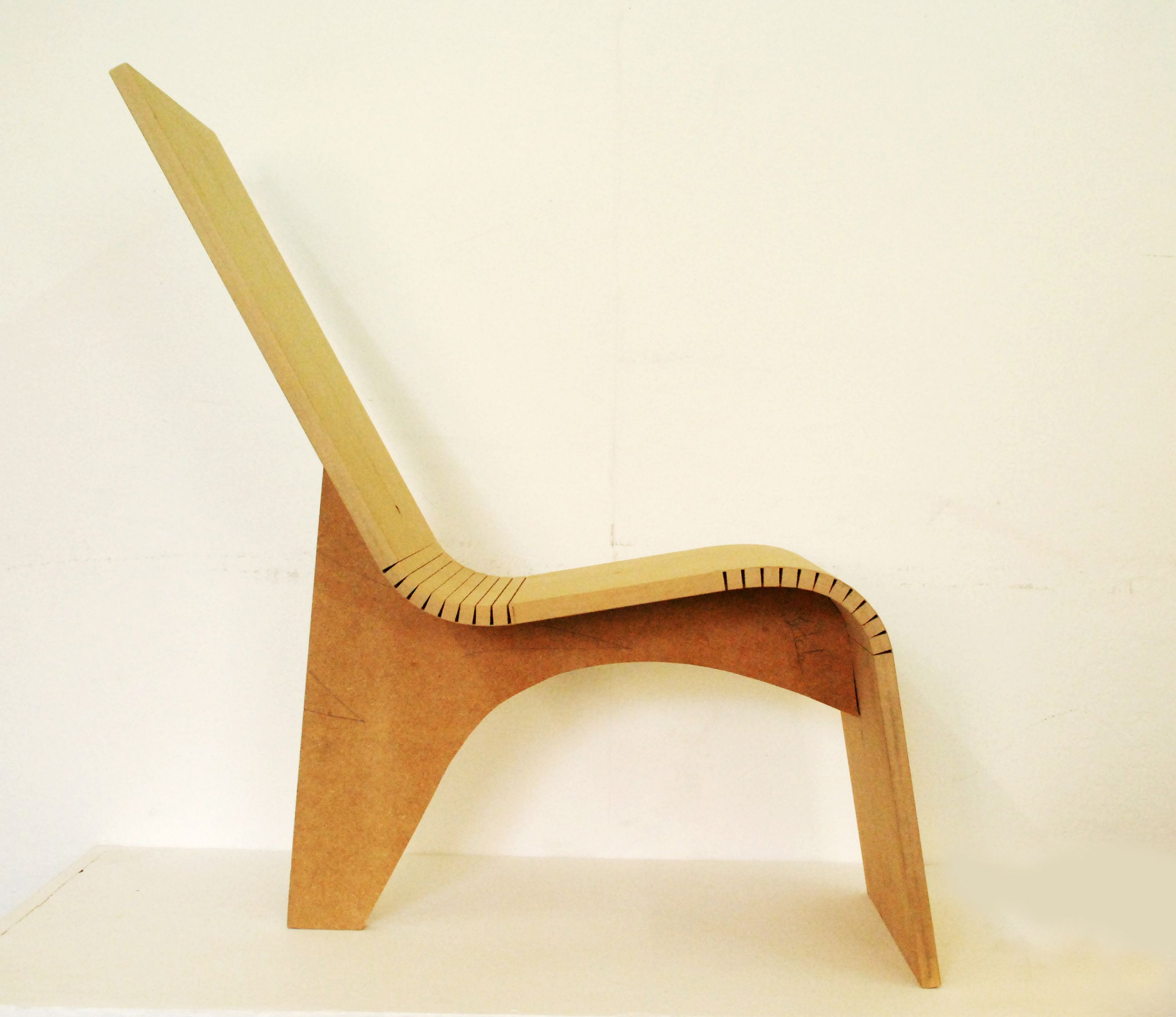 Bent Plywood Chair - Creative kerf design for your home furniture and accessories bay city plywood cabinets kerfed