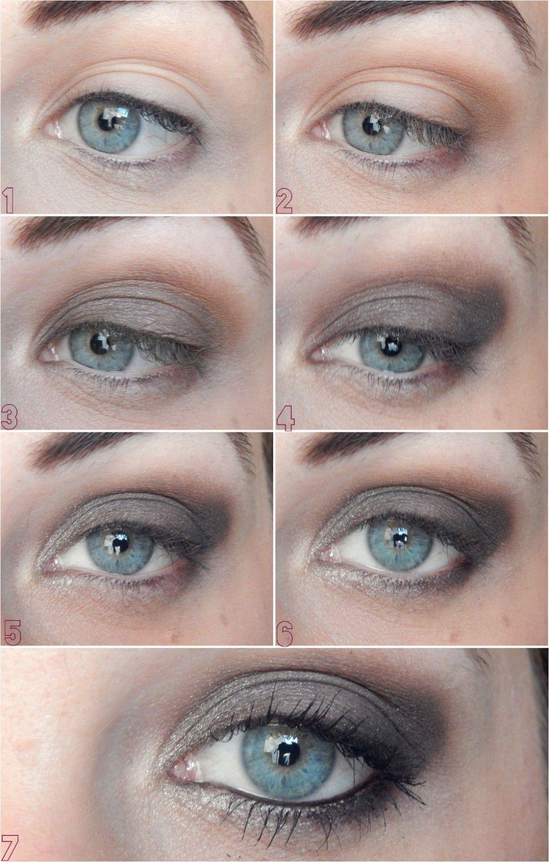 Maquillage EASY de jour avec la Naked 1 niveau débutante l