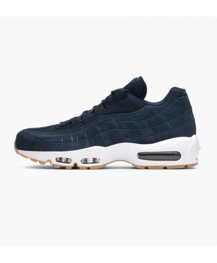 new product 38671 ec4d9 Nike Air Max 95 Premium Armory Navy Armory Navy Blue Fox Shoe