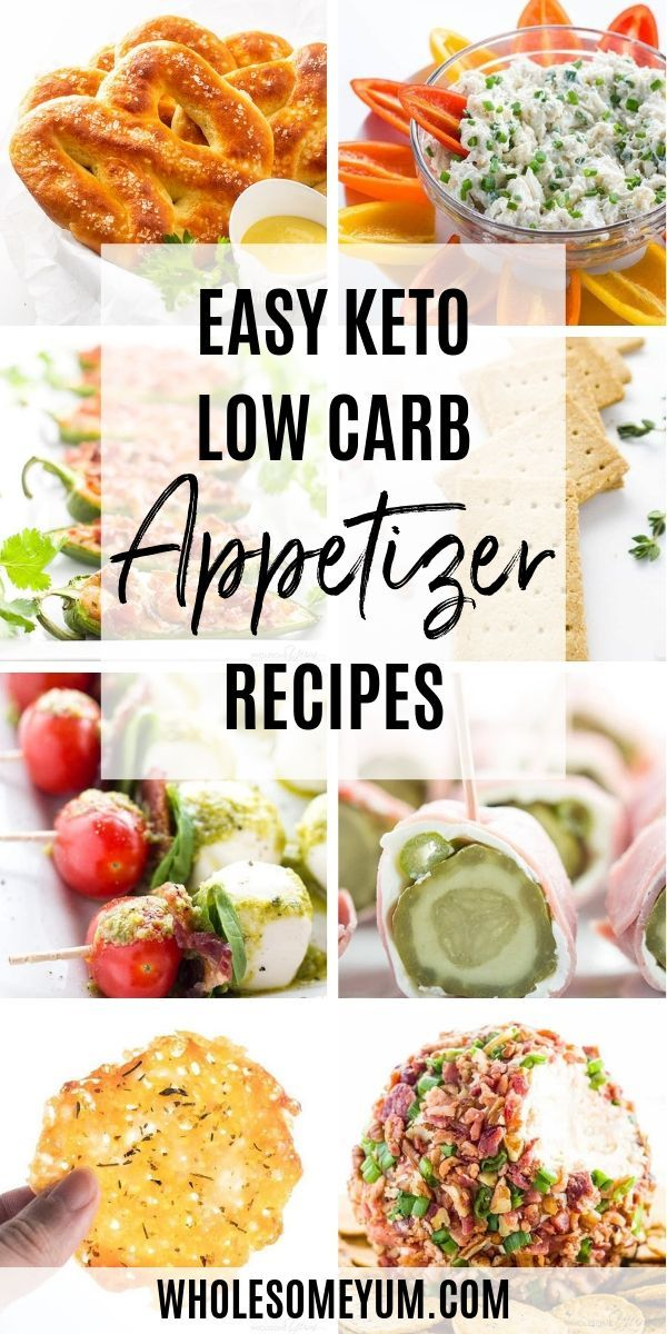Keto Low Carb Appetizers - Easy low carb appetizers can mean many different things! They can be anything from dips to cute little bites to general finger food. No matter what kind of keto appetizer recipes you are looking for, you will find lots of them here.