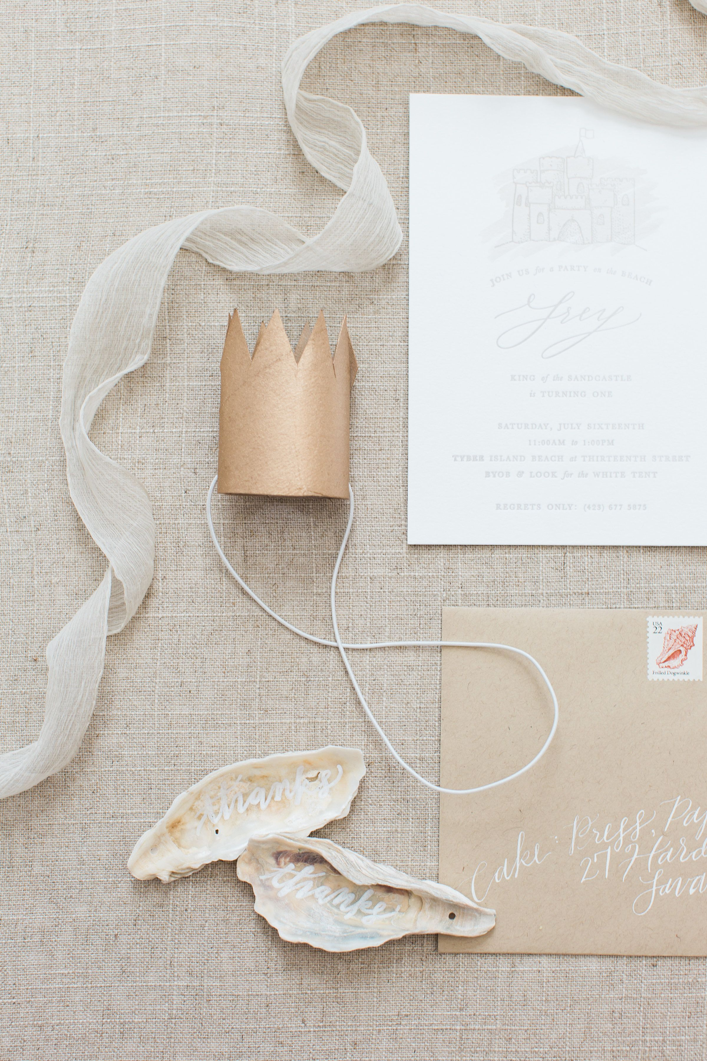 Letterpress + watercolor invitations. Paper Goods / Cake Photography / The Happy Bloom