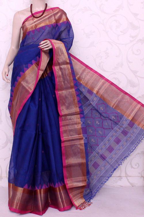 b9616befa5 Bengal Handloom Tant Cotton Saree (With Blouse) Jamdani 13069 , Buy  Partywear Tant Sarees online, Pure Partywear Tant Sarees, Trendy Partywear Tant  Sarees , ...