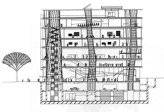 sendai mediatheque - Toyo Ito | Architecture: All | Pinterest | Sendai,  Toyo ito and Architecture