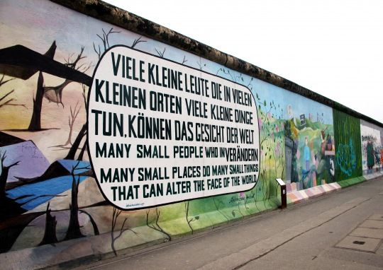 Berlin S East Side Gallery Remnants Of The Wall East Side Gallery Germany Quote Berlin