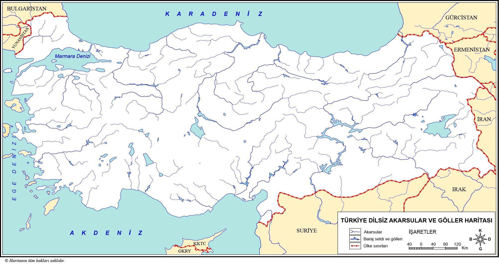 Turkiye Dilsiz Haritalari 2020 Harita Haritalar Cografya
