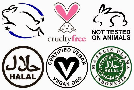 Vegan Animal Cruelty Free and Halal Makeup brands