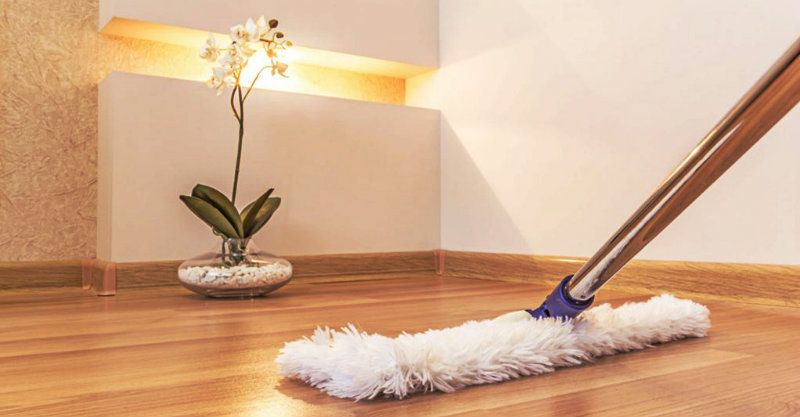 Best cleaning products to use for mopping wood floors