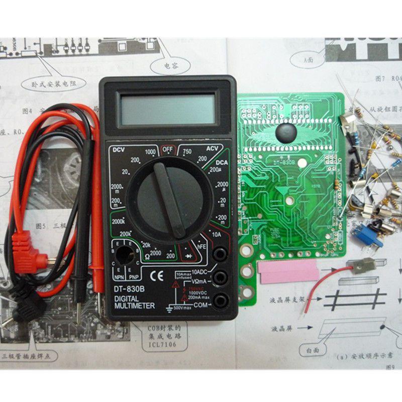 Мультиметр dt 830d инструкция