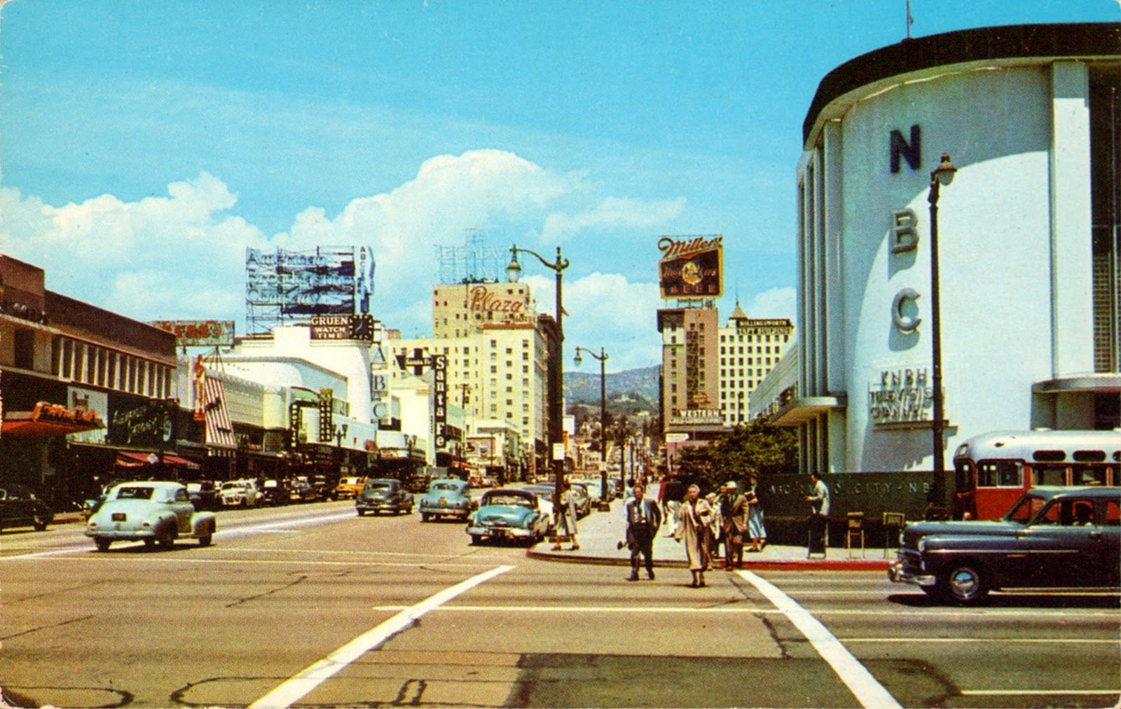 Transpress Nz Los Angeles Then And Now Hollywood California Los Angeles Hollywood Los Angeles History