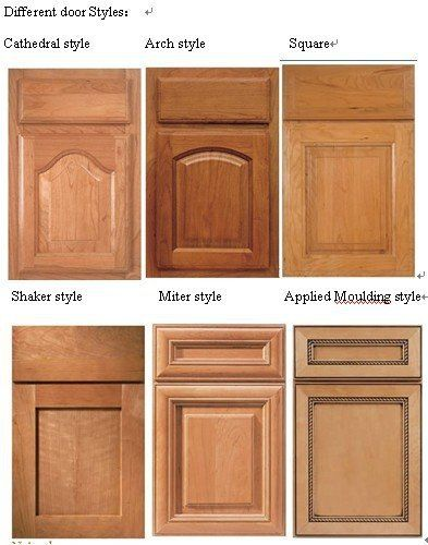 cathedral solid wood kitchen cabinet door china mainland ...