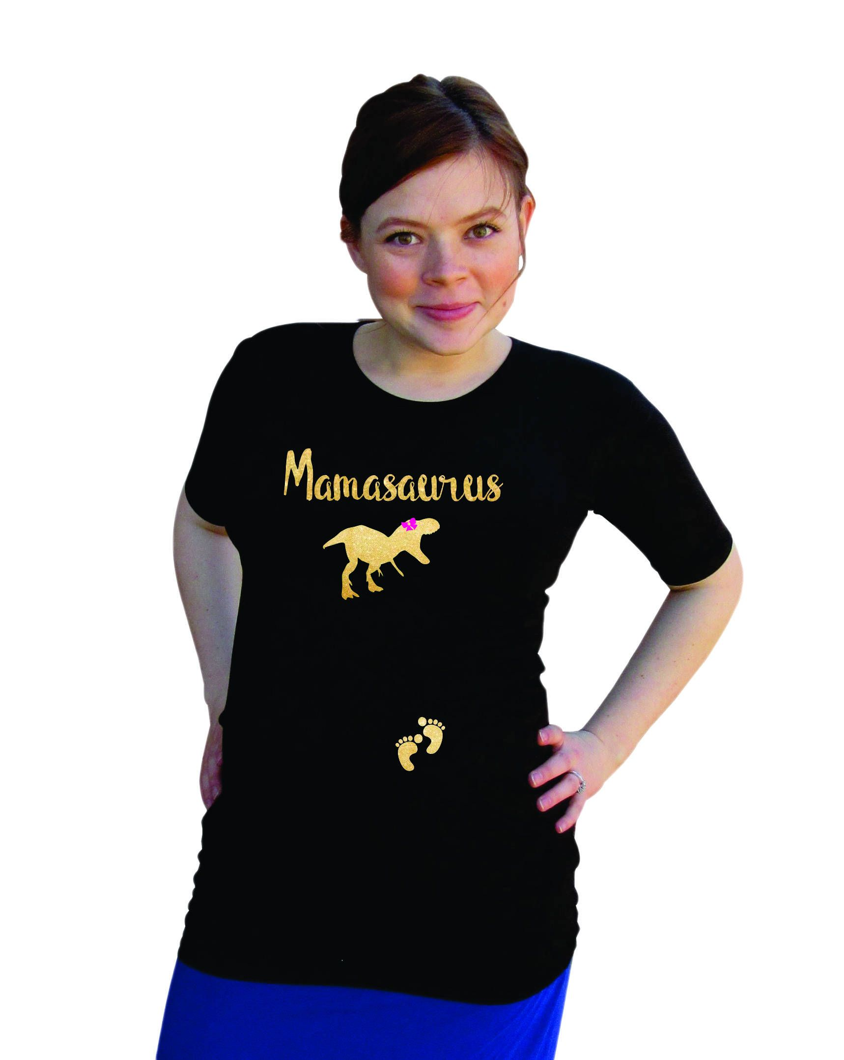 4914b1ad4 Mamasaurus Maternity - pregnancy shirt- plus size maternity available-  Pregnancy announcement shirt- Black by DJammarMaternity on Etsy