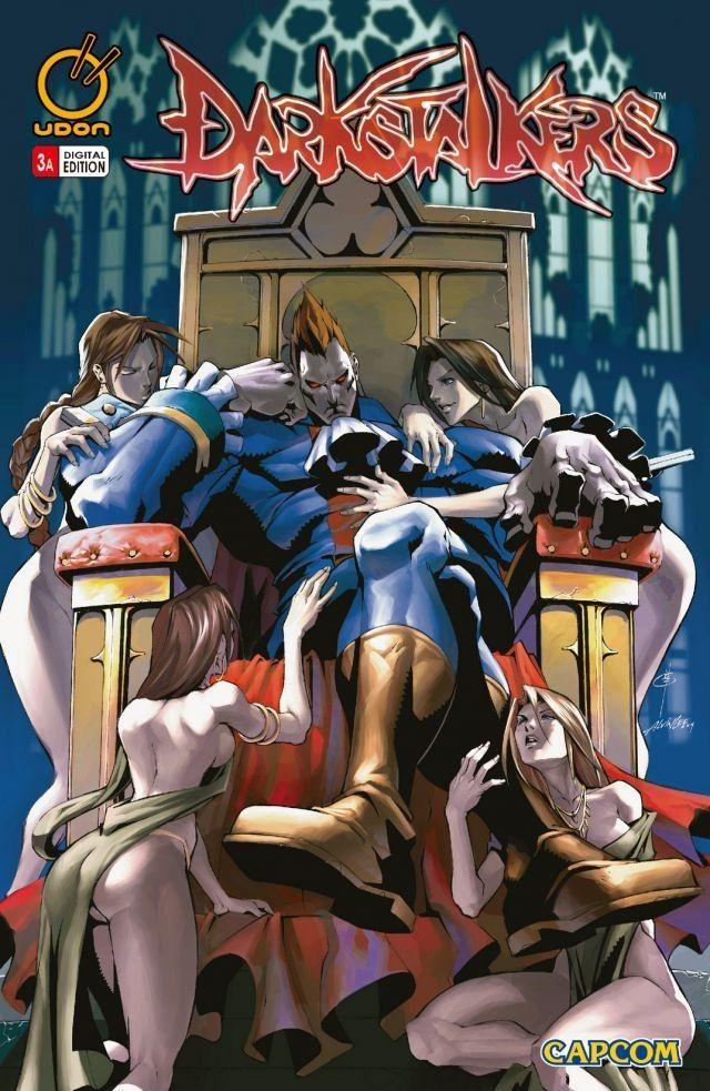 Darkstalkers 3 Comics, Marvel vs Anime