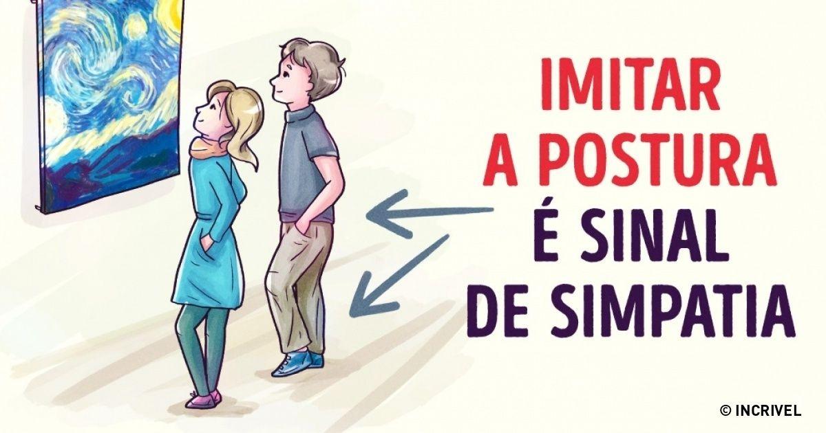 A linguagem corporal nunca mente!