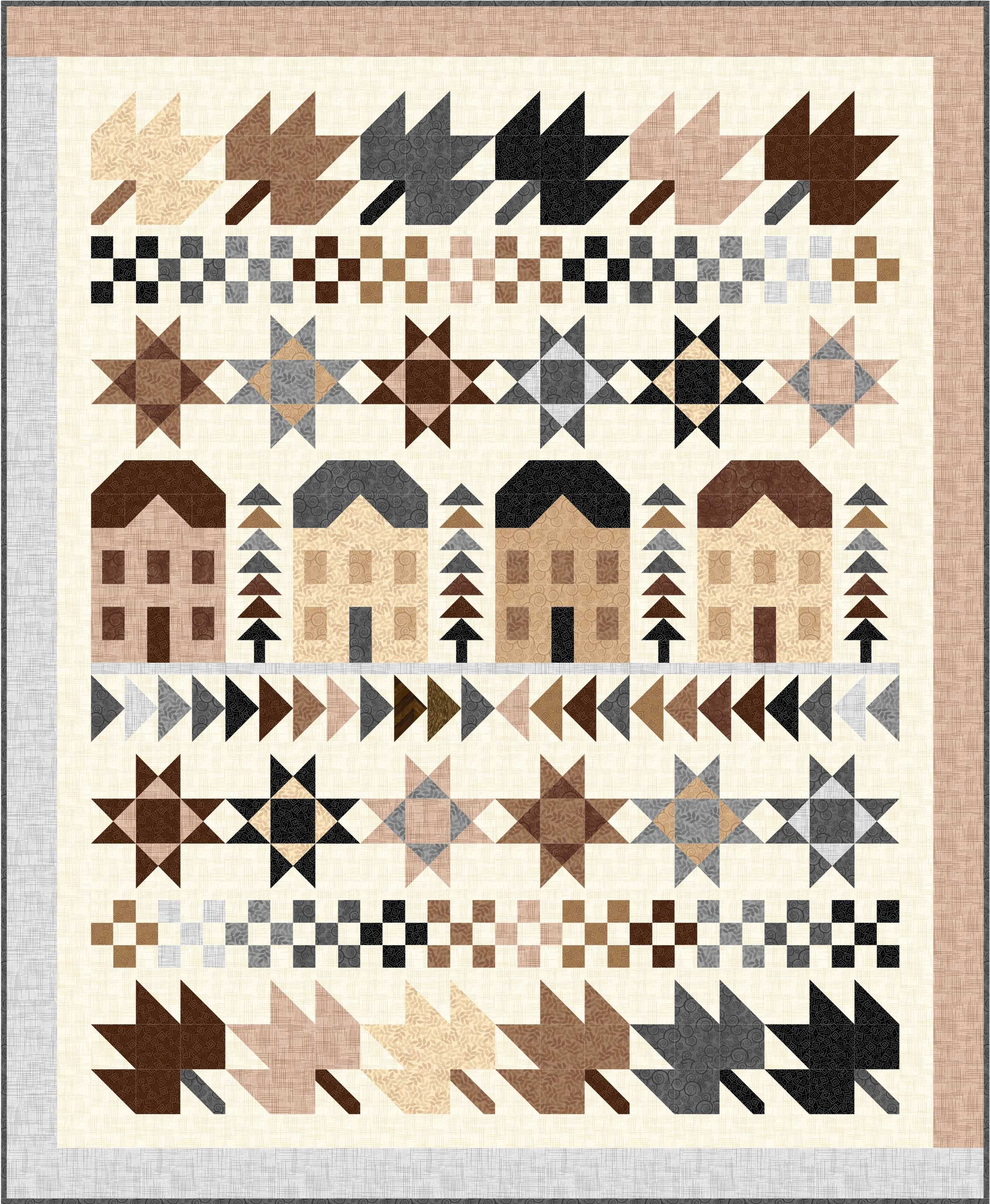 Ready, set, almost…. just about & Other FREE PATTERN of Harmony ... : harmony quilt pattern - Adamdwight.com