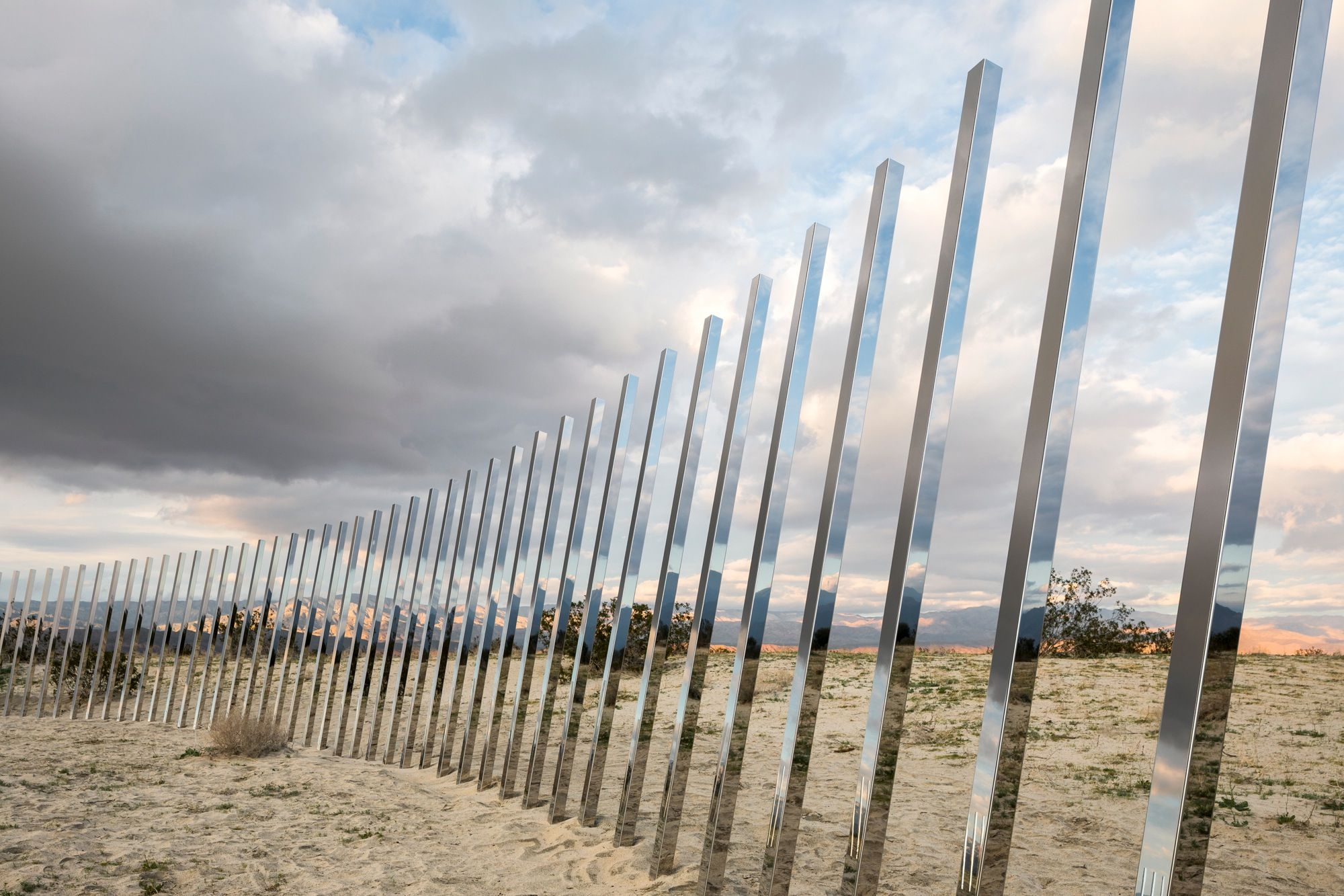 Making Art For A Desert Landscape With Images Coachella Valley Installation Art Desert Art
