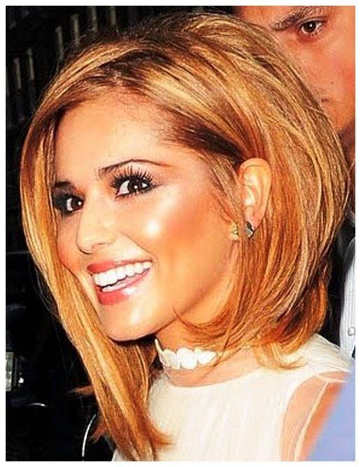 Long A Line Bob Haircut Hairstyles Cheryl Cole