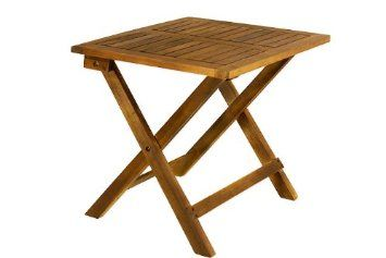 Table Pliante Basse Manger Appoint Bois Tropical Acacia Table