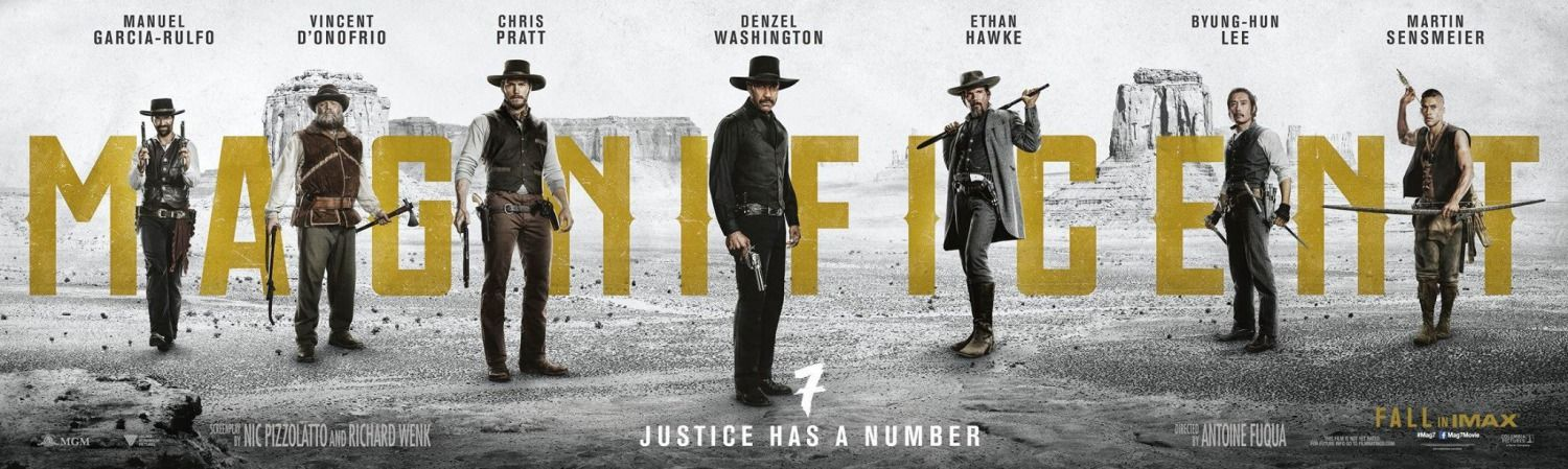 Return To The Main Poster Page For The Magnificent Seven Die