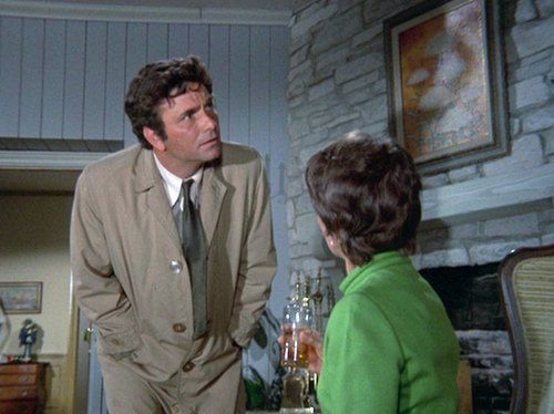 Peter Falk in Columbo (Suitable for Framing directed by Hy Averback ...