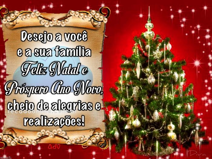 Pin Em Mensagem De Natal