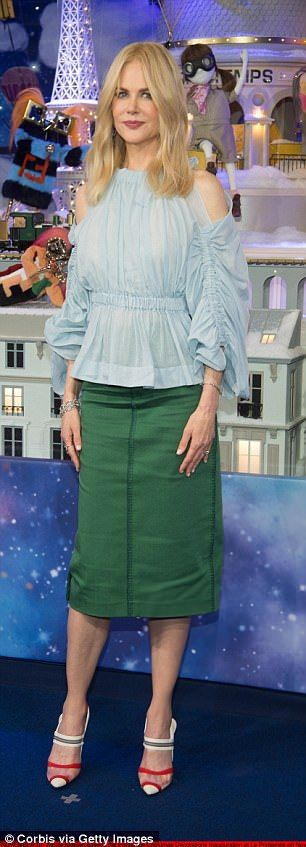 Nicole Kidman was gorgeous in a look from the #