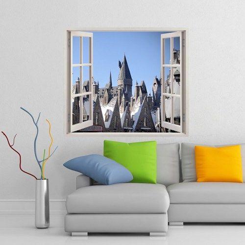 wall sticker window harry potter hogwarts decole by albus dumbledore harry potter dreams movie quote vinyl