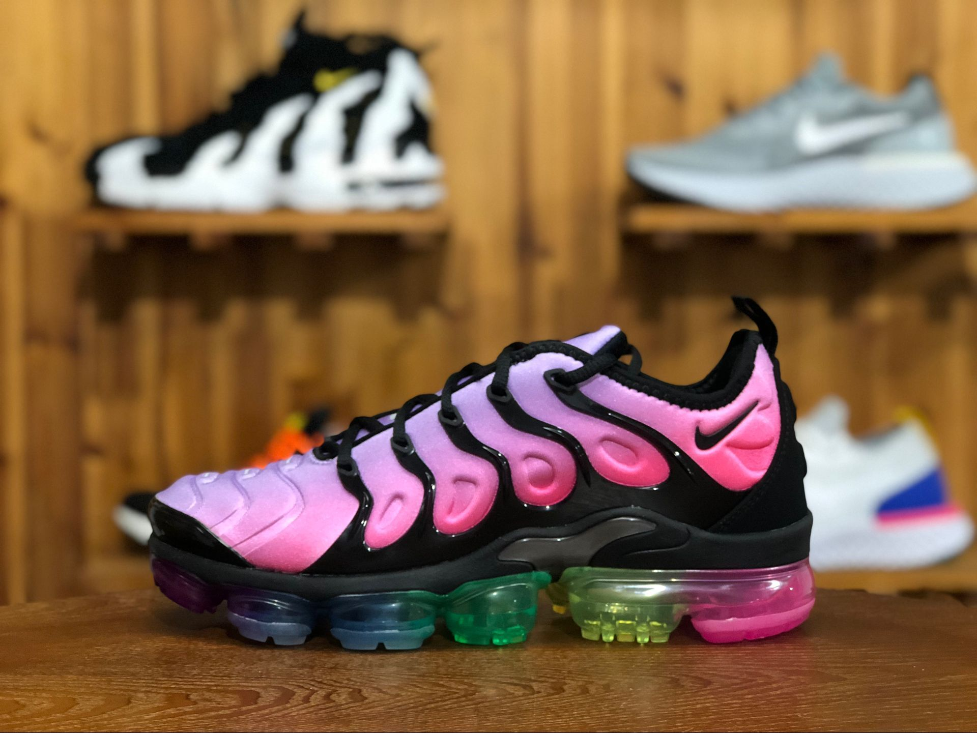 best website 49065 f2cfd Nike Air VaporMax Plus Be True Color: Purple Pulse/Pink ...