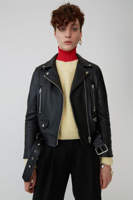 Cropped biker jacket black 1550 Jackets, Fashion, Black