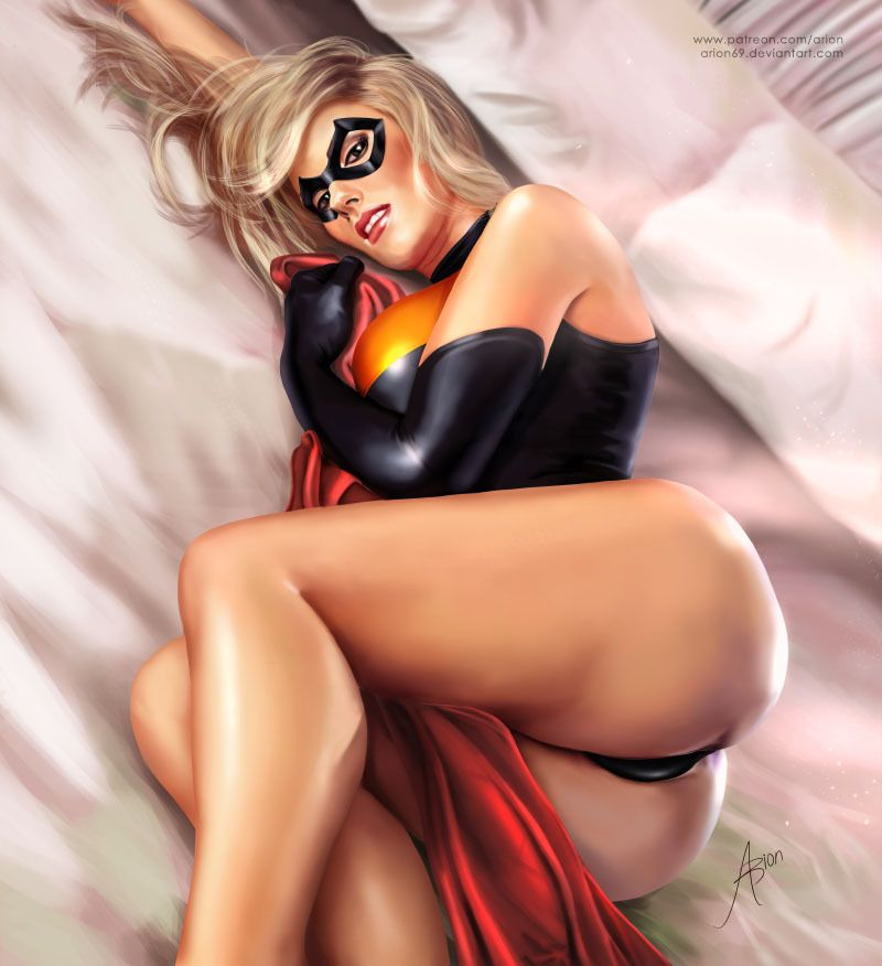 marvel heroes nude girls