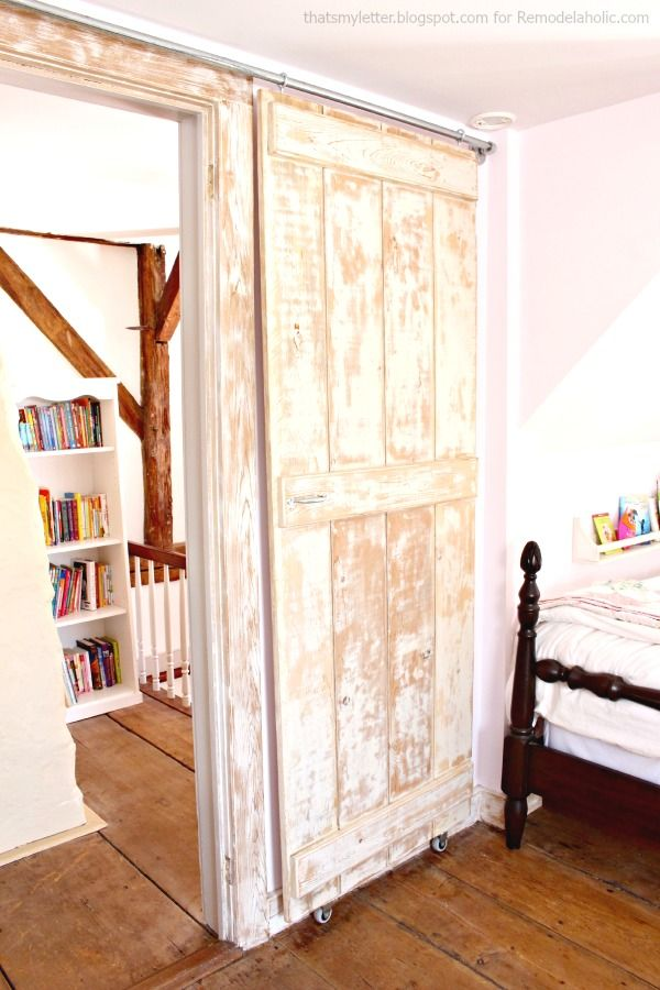 Incroyable Build An Easy DIY Sliding Barn Door